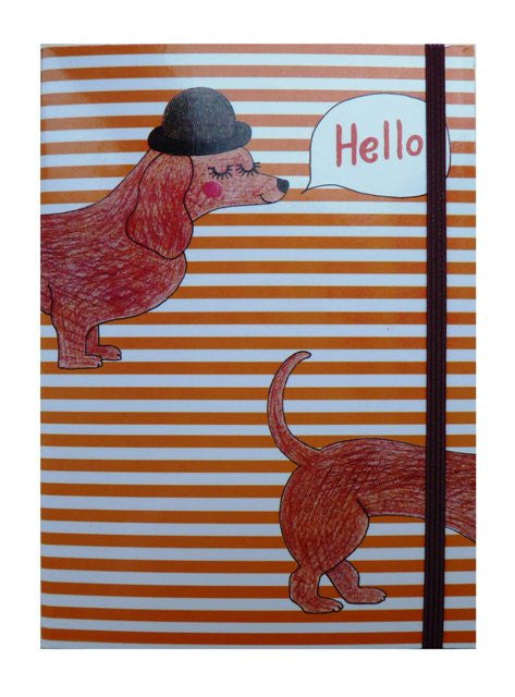 Sausage Dog Notebook - Kate Garey