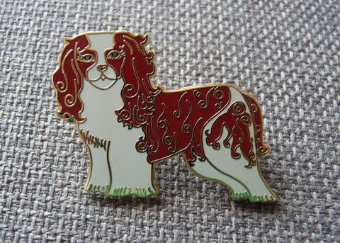 Cavalier Pin Brooch