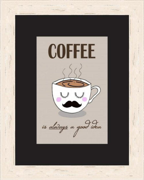 Coffee Good A4 Print - Kate Garey