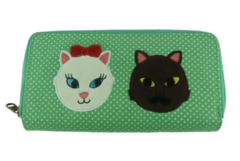Kitty Crush Wallet - Kate Garey