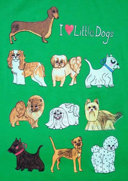 Little Dogs T-Shirt - Kate Garey