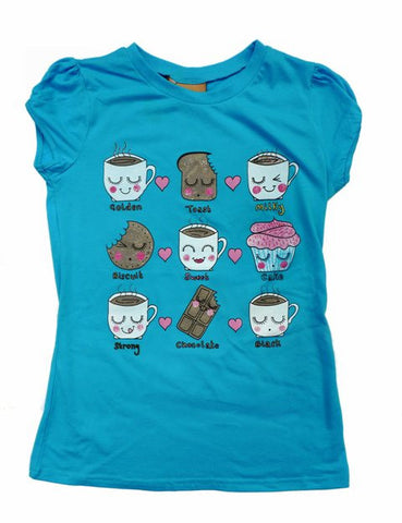 Tea Time T-shirt - Kate Garey