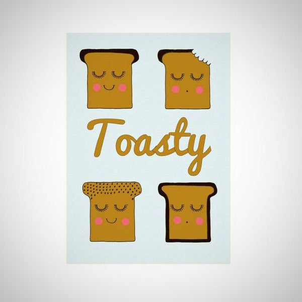 Toasty A4 Print - Kate Garey