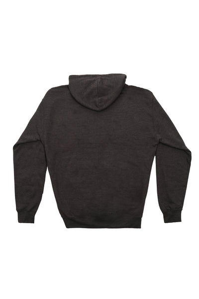 HOOD MERCH JUMPER IN CHARCOAL