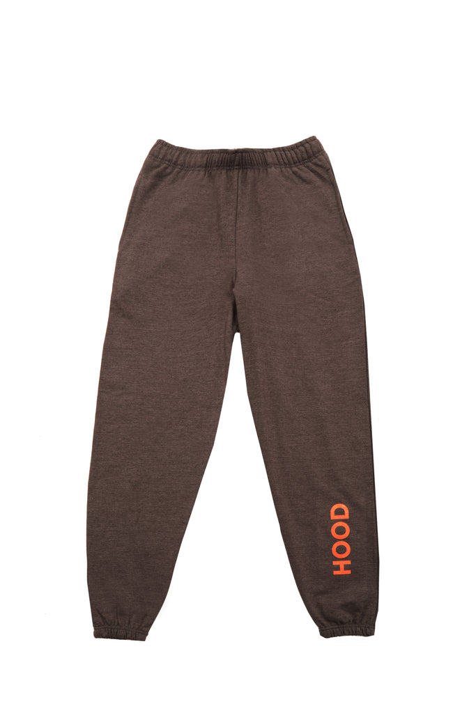 HOOD MERCH JOGGERS IN CHARCOAL