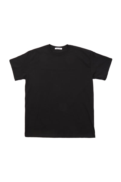 HOOD MERCH BLACK T-SHIRT W/ BACK LOGO