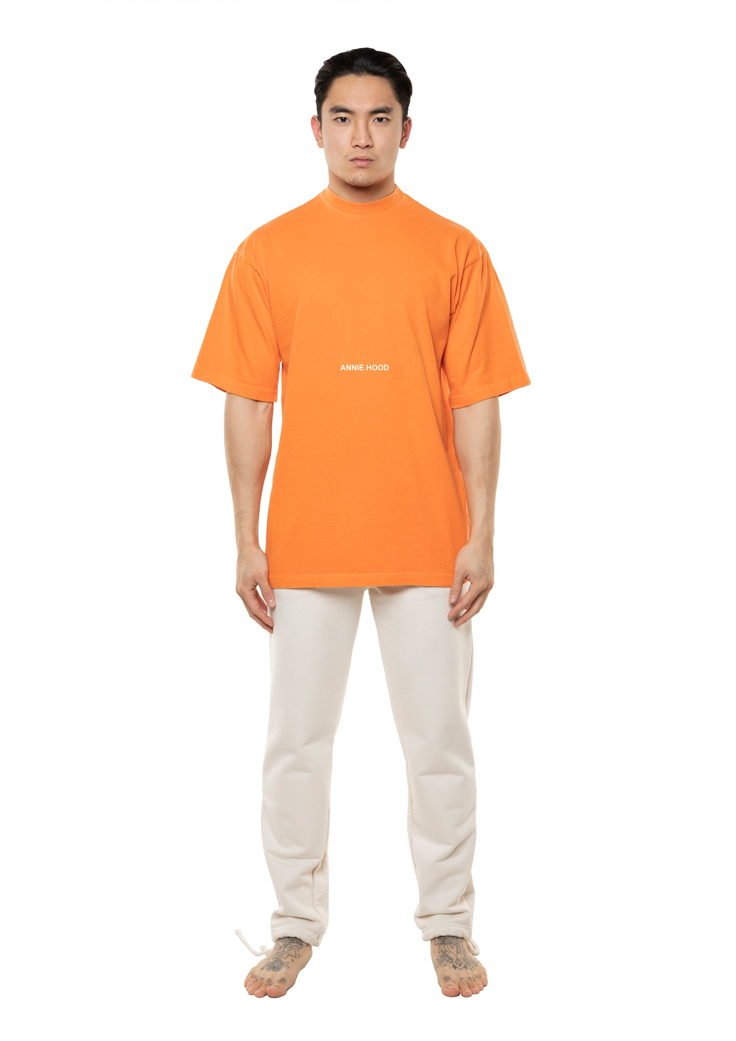 AH ESSENTIAL TSHIRT - WASHED ORANGE *AVAILABLE 01/DEC*