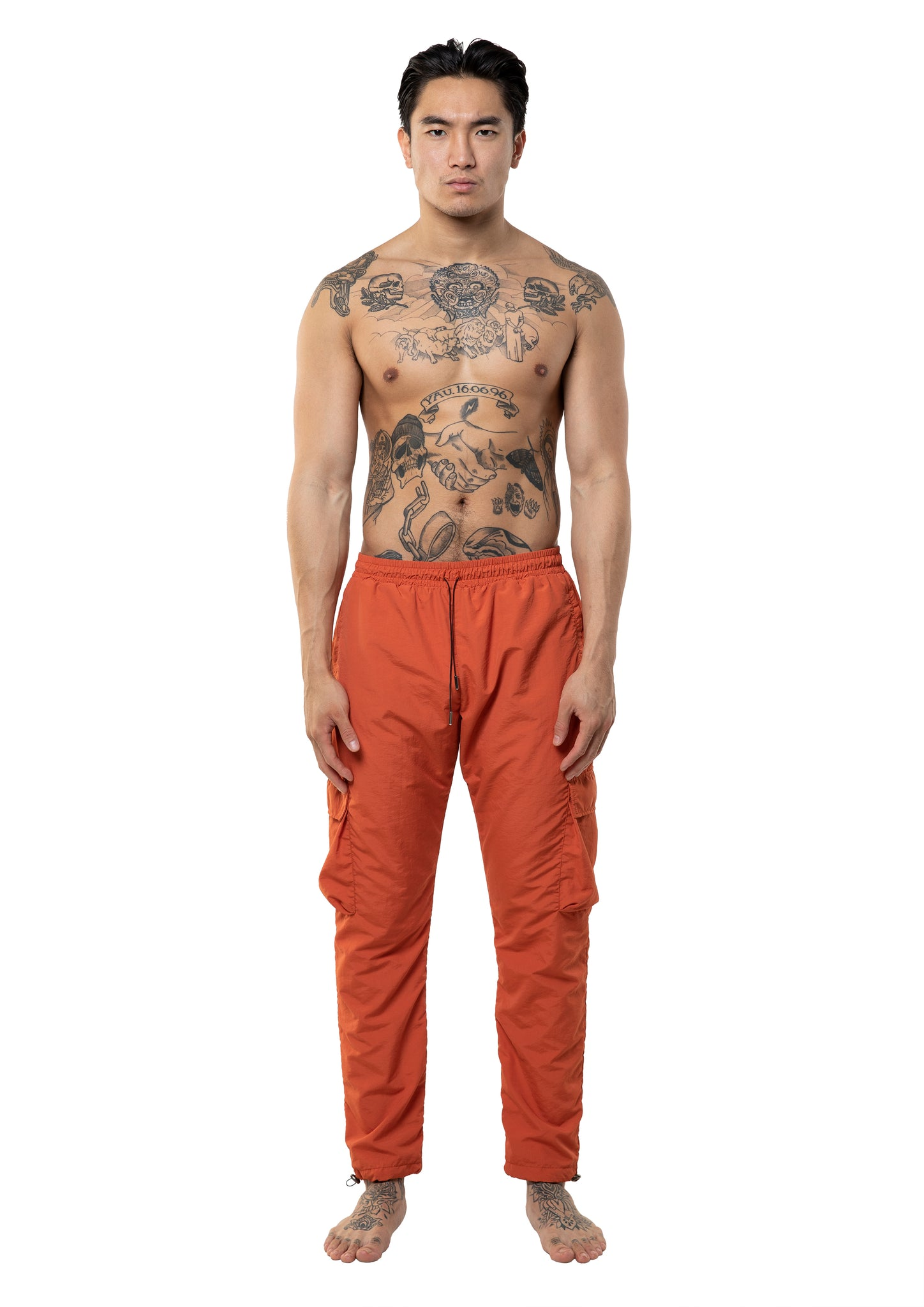 CARGO TECHPANT - ORANGE