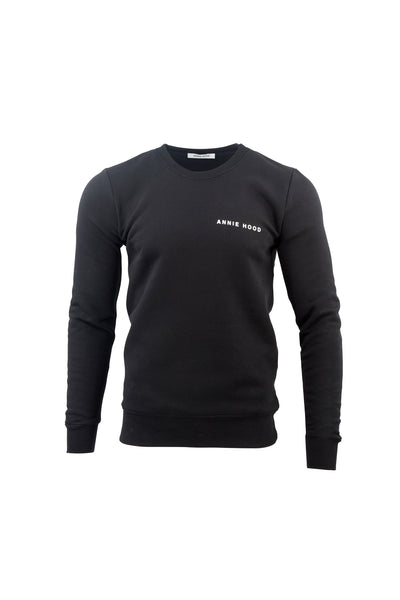 LOGO JUMPER IN BLACK