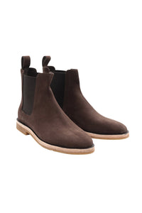 BOOTS - CHELSEAS IN DUSTY BROWN
