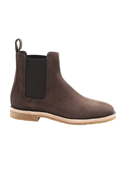 CHELSEA BOOTS IN DUSTY BROWN