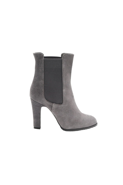Suede Lavender Grey Womens Chelsea Boot