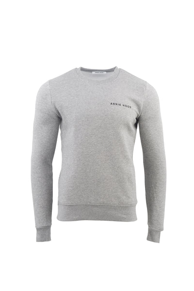 LOGO JUMPER IN GREY