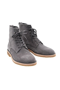 BOOTS - LACE UPS IN LAVENDER GREY