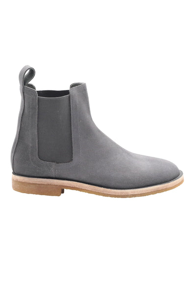 CHELSEA BOOTS IN LAVENDER GREY