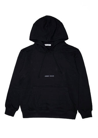 ESSENTIAL HOODY - JET BLACK
