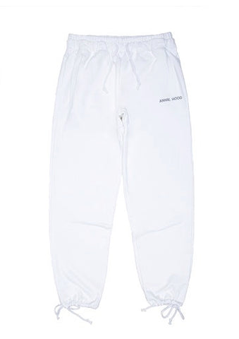 ESSENTIAL JOGGERS - SOLID WHITE