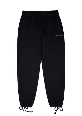 ESSENTIAL JOGGERS - JET BLACK