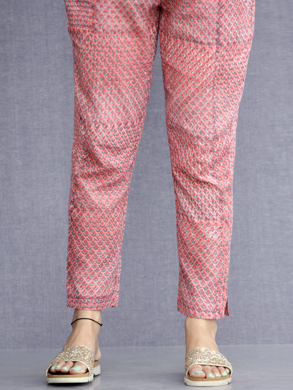 Jashn Inaya - Cotton Pants - KP62A2276