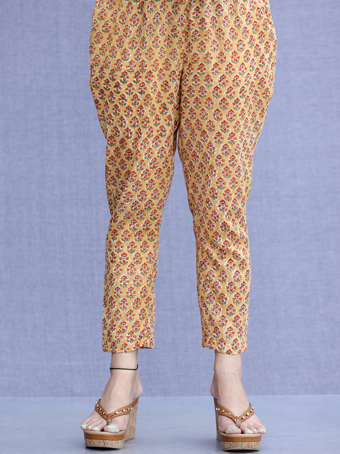 Jashn Mehreen - Cotton Pants - KP60B2270