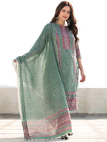 Zohra Samah - Set of Kurta Pants & Dupatta - KS76C2518D