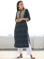 Tagai Sahat- Set of Ikat Kurta & Pants  - KS125A2416