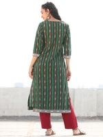 Tagai Rastifa- Set of Ikat Kurta & Pants  - KS121B930