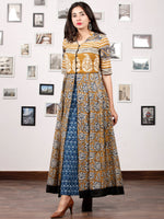 Naaz ROYAL DREAMS - Hand Block Printed Cotton Long Dress (SET OF 2) - DS66F001