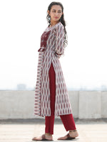 Tagai Ushna- Set of Ikat Kurta & Pants  - KS127A2420