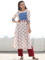 Tagai Ulfa- Set of Ikat Kurta & Pants  - KS127B2429