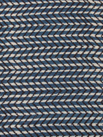 Indigo Black Hand Block Printed Cotton Fabric Per Meter - F001F2469