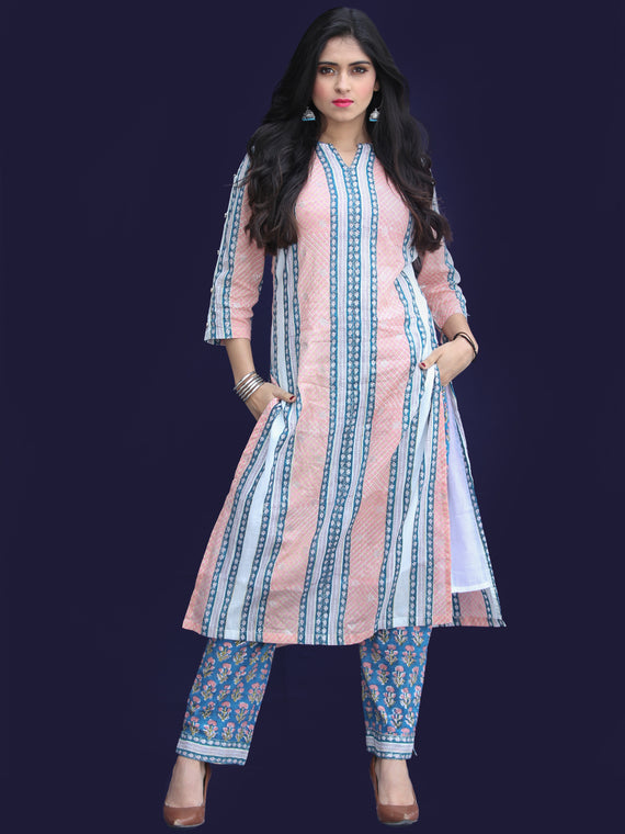 Rozana Fitrat Kurta Pant Set - KS17AS2162