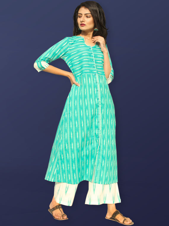 Rozana Tareen Kurta Palazzo Set - KS27AS2194