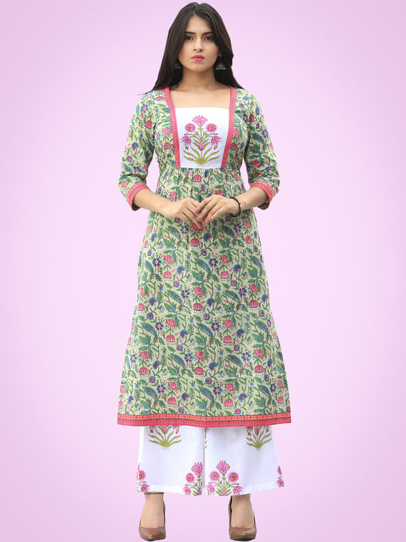 Rozana Gulbagh Kurta Palazzo Set - KS03AS2032