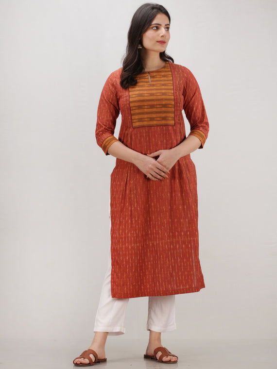 Tagai Saba - Set of Ikat Kurta & Pants  - KS119B2434