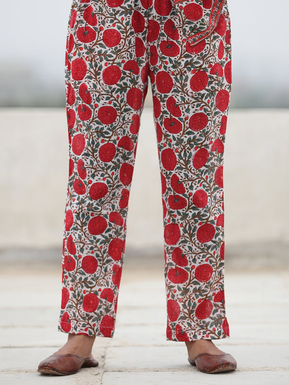 Rozana Amara - Cotton Pants- KP131A2486