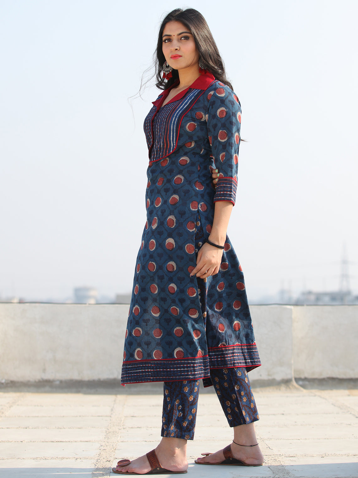 Bahaar Raaniya - Set of Kurta Pants & Dupatta - KS108A2065D
