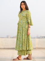 Raas Nawfar - Set of Flared Kurta & Palazzo  - KS101A2299