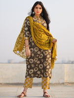 Bahaar Rabiqa - Set of Kurta Pants & Dupatta - KS110A1343D