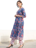 Nayab Gulerana - Set of Kurta Pants & Dupatta - KS64D2537D2