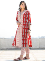 Bahaar Naina - Set of Kurta Pants & Dupatta - KS01F1703D