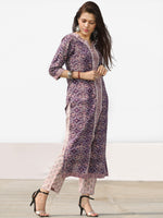 Nayab Arfa - Set of Kurta Pants & Dupatta - KS78F2530D