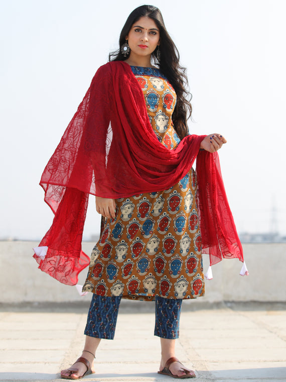Bahaar Raeha - Set of Kurta Pants & Dupatta - KS68C1490D