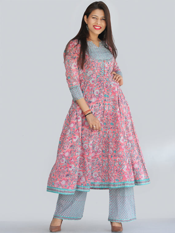 Rozana Gulistan Kurta Pants Set - KS07AS2168
