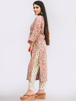 Rozana Ghazala - Set of Kurta Pants & Dupatta - KS143B2484D