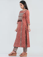 Bahaar Rada - Set of Kurta Pants & Dupatta - KS60L2516D