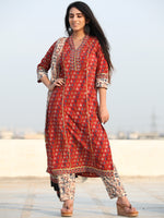 Bahaar Faiza - Set of Kurta Pants & Dupatta - KS60X2468D