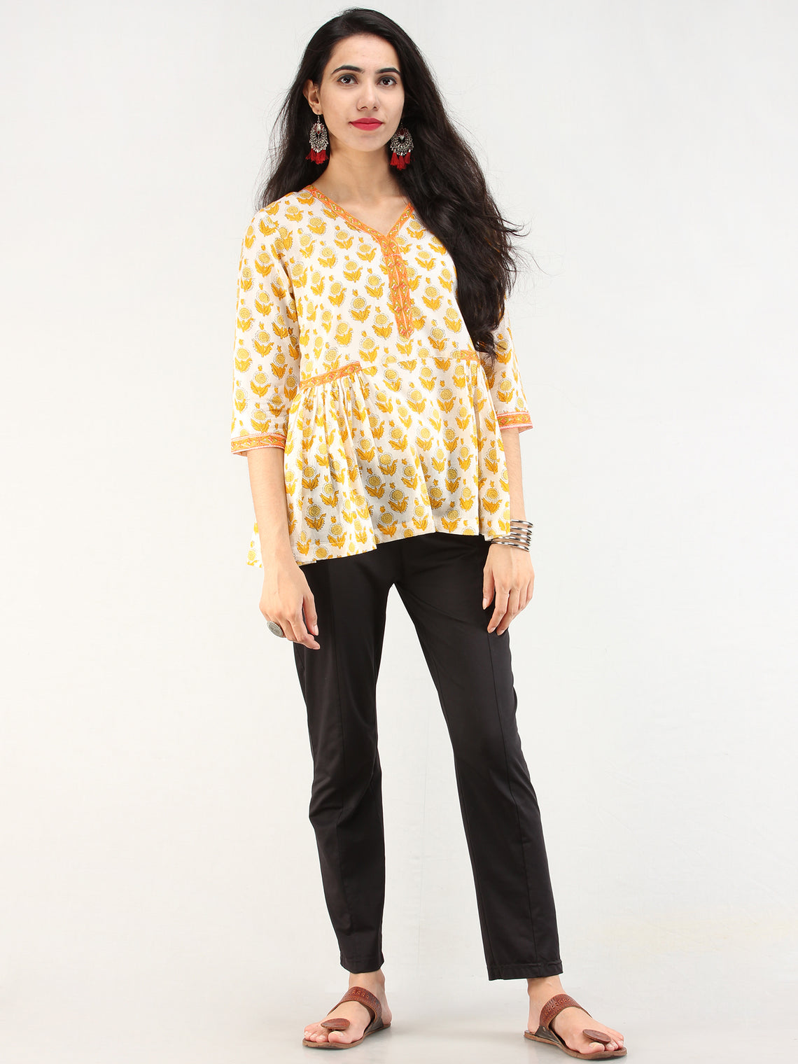 Rangrez Diwa - Cotton Top - T76F2173