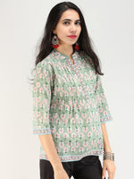 Rangrez Mahroz - Cotton Top - T73F2148