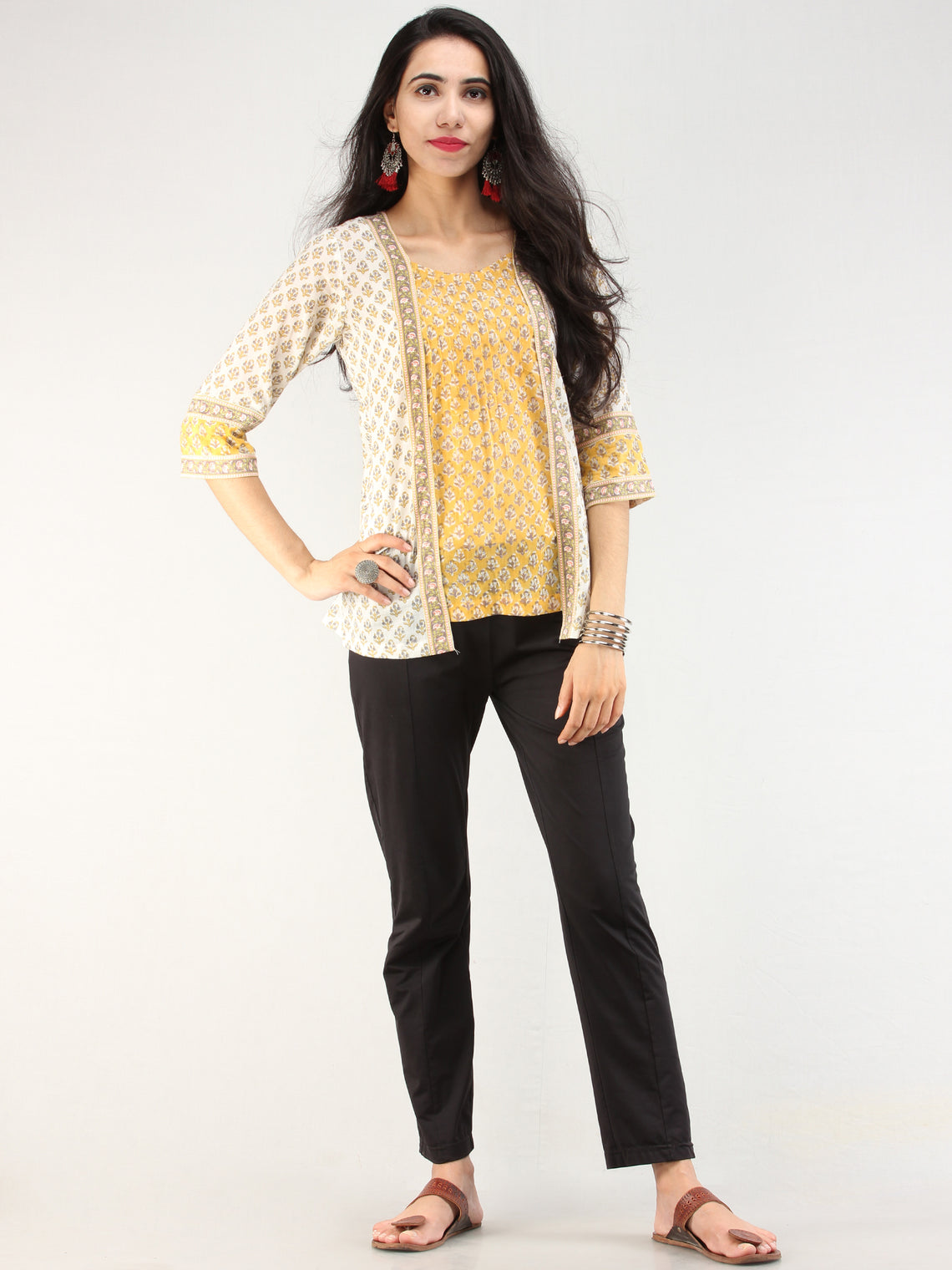 Rangrez Jasmeen - Cotton Top - T75F2182